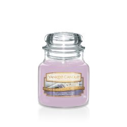 Scented candle Yankee Candle color lilac   Honey Lavender Gelato Small Jar online price for sale:  11.90 €
