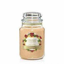 Scented candle Yankee Candle color caramel   Maple Sugar Large Jar online price for sale:  29.90 €