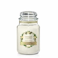 Scented candle Yankee Candle color white   French Vanilla Large Jar online price for sale:  29.90 €