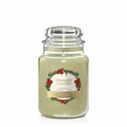 Scented candle Yankee Candle color green   Bayberr Large Jar online price for sale:  20.93 €