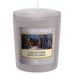 Scented candle Yankee Candle color grey   Candlelit Cabin Votive Sampler online price for sale:  2.65 €