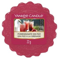 Scented candle Yankee Candle color red   Pomegranate Fin Fizz Wax Melt online price for sale:  1.57 €