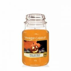 Scented candle Yankee Candle color orange   Trick or Teat Jar online price for sale:  29.90 €