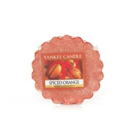 Scented candle Yankee Candle color brown   Spiced Orange Wax Melt online price for sale:  2.25 €