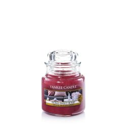 Scented candle Yankee Candle color pink   Home Sweet Home Small Jar online price for sale:  11.90 €