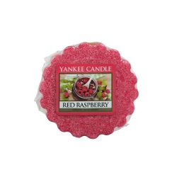 Scented candle Yankee Candle color red   Red Raspberry Wax Melt online price for sale:  2.25 €