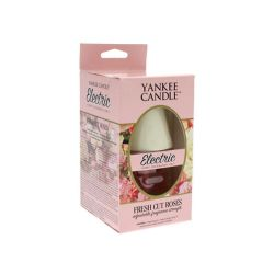 Diffusori Yankee Candle color pink   Fresh Cut Roses Completo Elettrico online price for sale:  12.49 €
