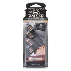 Car scent Yankee Candle color black   Black Coconut Vent Stick online price for sale:  5.99 €