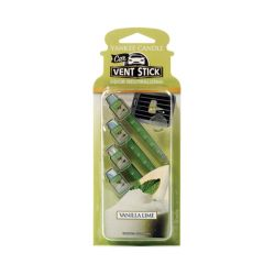 Car scent Yankee Candle color green   Vanilla Lime Vent Stick online price for sale:  5.99 €