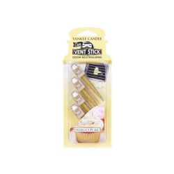 Car scent Yankee Candle color yellow   Vanilla Cupcake Vent Stick online price for sale:  5.99 €