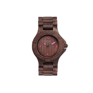 Watches WeWOOD color brown   KALE choco pink online price for sale:  99.00 €