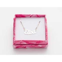 Gioielli Magic in The Moonlight color silver   Necklace ELISA online price for sale:  38.50 €