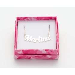 Gioielli Magic in The Moonlight color silver   Necklace MARTINA online price for sale:  38.50 €