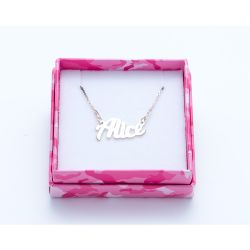 Gioielli Magic in The Moonlight color silver   Necklace ALICE online price for sale:  38.50 €