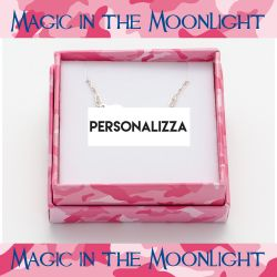 Gioielli Magic in The Moonlight color silver   Customizable necklace online price for sale:  38.50 €