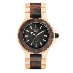 Watches WeWOOD color brown   DATE beige choco online price for sale:  89.95 €
