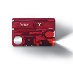 Swisse army knife Victorinox color red   Swisscard online price for sale:  34.00 €