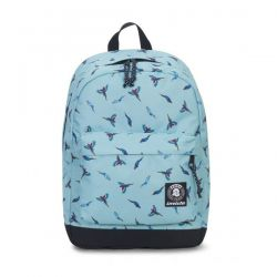 Backpack Invicta color light blue   Carlson Backpack Fantasy Waterfall Parrots online price for sale:  48.00 €