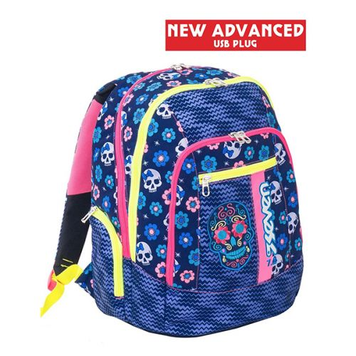 00436b6afd Seven Advanced Backpack Mexi Girl Backpack Blue Prices Online Shop   Tempter