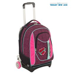 Trolley Seven color pink   Trolley New Jack REBEL GIRL online price for sale:  83.93 €