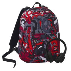 da7581e4a2 Discounted Seven Backpacks color red FLAME Reversible Backpack online price  for sale  44.94 €