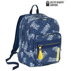Backpack Seven color blue   Zaino OUTSIZE Totem online price for sale:  84.90 €