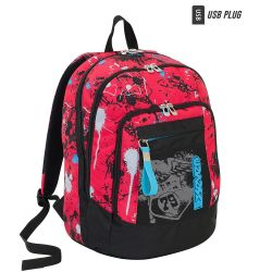 Backpack Seven color red/black   Zaino ADVANCED Sprinkle online price for sale:  81.90 €