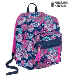 Backpack Seven color pink/blue   Zaino OUTSIZE Sugarskull online price for sale:  89.90 €