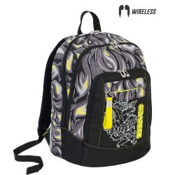 Backpack Seven color black/yellow   Zaino ADVANCED Avium online price for sale:  89.90 €