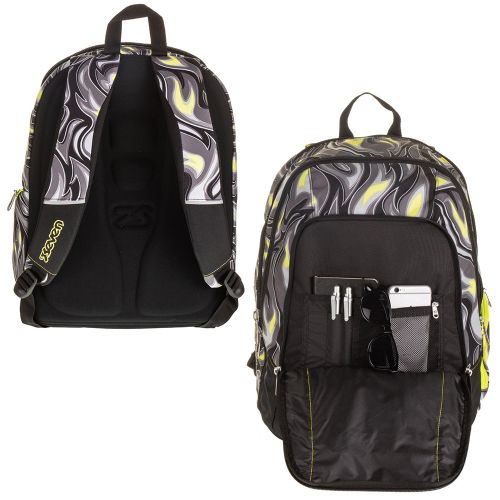 Seven Backpack black/yellow