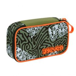 Pencil case Seven color green   Astuccio QUICK CASE Totem online price for sale:  32.90 €