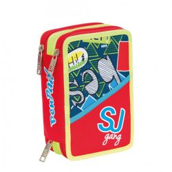 Pencil case Seven color multicolor   Astuccio 3 ZIP SJ Boy PEN PAD online price for sale:  35.90 €