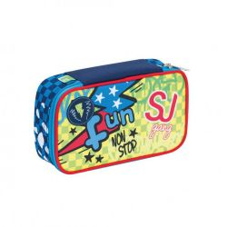 Pencil case Seven color blue   Astuccio QUICK CASE SJ Boy online price for sale:  32.90 €