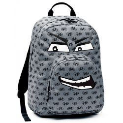 Backpacks Invicta color grey   Backpack OLLIE FACE online price for sale:  43.92 €
