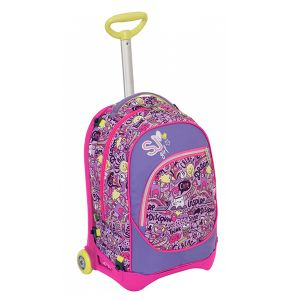 Trolley Seven color pink   Trolley Jack Junior HIGH TECH online price for sale:  105.90 €