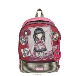 Backpack Gorjuss color pink   Round Backpack Gorjuss online price for sale:  63.50 €